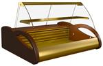 Настольная витрина для кондитерских Полюс ВХС-1,0 Арго Люкс