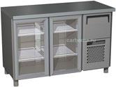 Холодильный стол с прозрачными дверцами Carboma BAR-250C