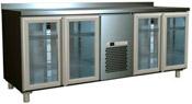 Холодильный стол Carboma 4GNG/NT