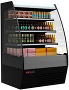 Пристенная холодильная горка Carboma 1600/875 ВХСп-1,3 (тонированный cтеклопакет)