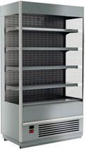 Пристенная холодильная горка Carboma Cube 1930/875 ВХСп-0,7 INOX