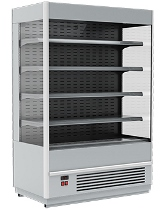 Пристенная холодильная горка Carboma Cube 1930/875 ВХСп-1,3