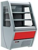 Пристенная холодильная витрина Carboma 1260/700 ВХСп-0,7 Britany F13-07