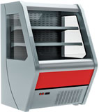 Пристенная холодильная витрина Carboma 1260/700 ВХСп-1,0 Britany F13-07
