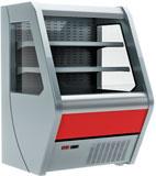 Пристенная холодильная витрина Carboma 1260/700 ВХСп-1,3 Britany F13-07