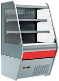 Пристенная холодильная витрина Carboma 1260/700 ВХСп-0,7 Britany F13-07 (стеклопакет)