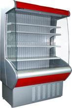 Пристенная холодильная витрина Carboma ВХСп-1,0